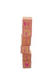 Houten blokjes - Melis