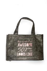 Vilten tas -  50 jaar - this is wat an awesome 50 year looks like