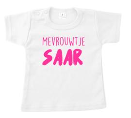 Shirtje - mevrouwtje ... + eigen naam