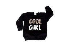 Sweater - 'cool girl met luipaardprint