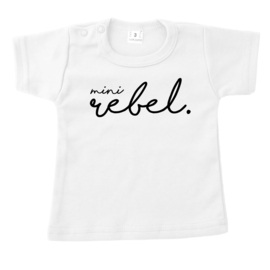 Shirtje - mini rebel.
