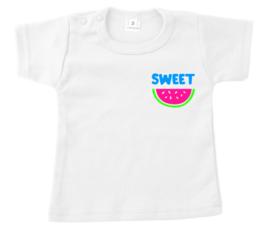 Shirtje - sweet - watermeloen - neon