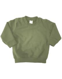 Sweater - legergroen - maat 152/164