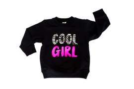 Sweater - 'cool girl met zebraprint