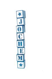 Houten blokjes - Jochem