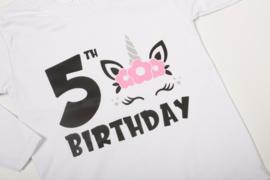 Verjaardagshirtjes