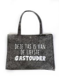Vilten tas -  Deze tas is van de liefste gastouder