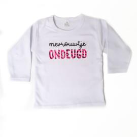 Shirtje 'mevrouwtje ondeugd'