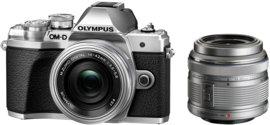 Olympus E‑M10 Mark III 1442 Kit - Zilver