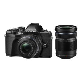Olympus E‑M10 Mark III 1442 Kit - Zwart