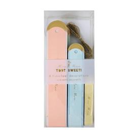 Meri Meri - Pinwheels Pastel & Gold