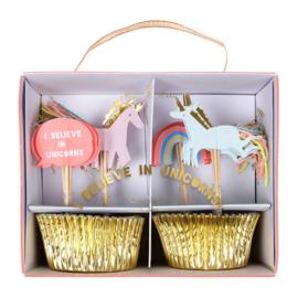 Meri Meri - Cupcake kit Eenhoorn