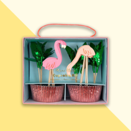 Meri Meri - Cupcake kit Flamingo
