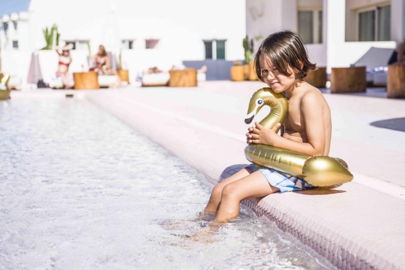 Zwemband Zwaan Goud - kids