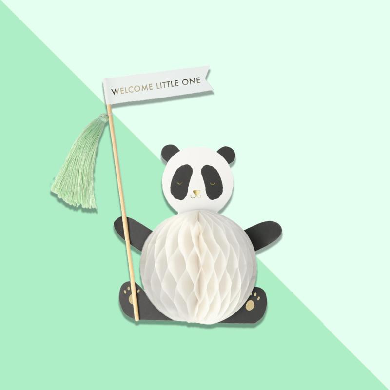 Meri Meri - Pop up kaart 'Welcome sweet baby'