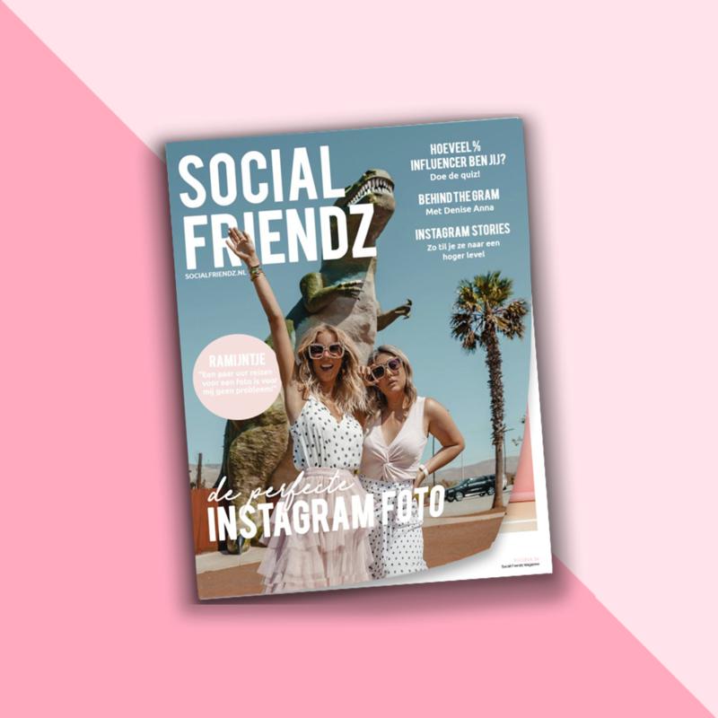 Social Friendz magazine - De perfecte Instagram foto