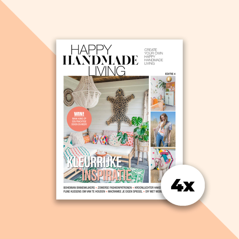 Magazine - Happy Handmade Living (4x)