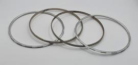 4 rinkel armbanden