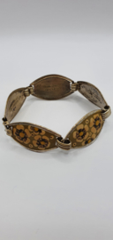 Antieke armband, handbeschilderd