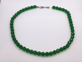 Smaragd kleurige ketting