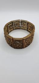 Bronskleurige armband