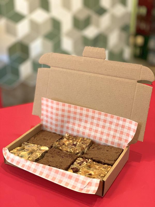Brownies én 7-layers per post