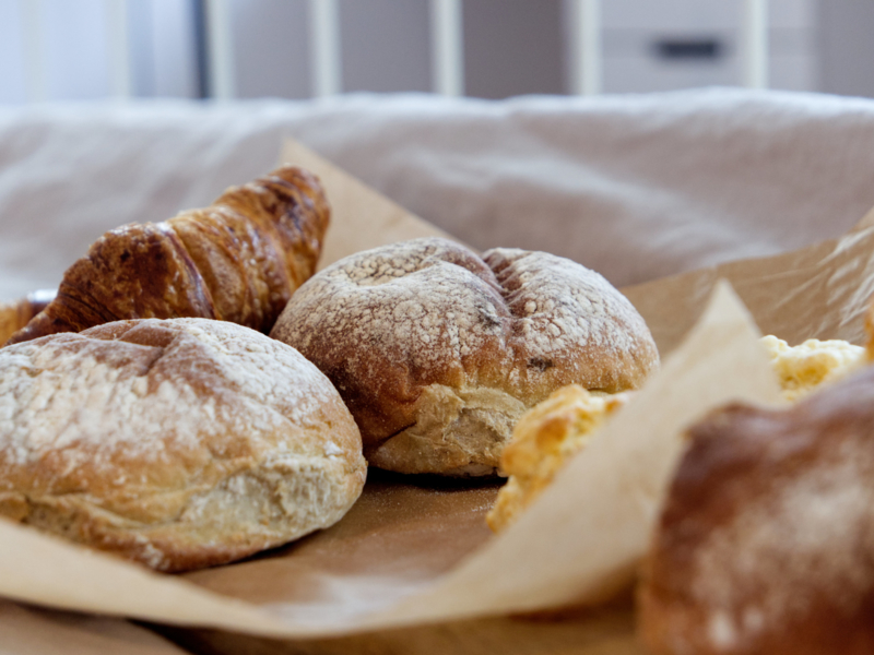 Extra broodje bij het ontbijt