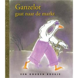Boek - Ganzelot Gaat Naar De Markt - Gouden Boekjes - Nieuw