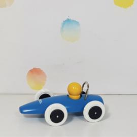 Houten Auto Blauw - Brio - Refurbished