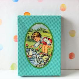 Puzzel Kindje met Zeilbootje - Refurbished