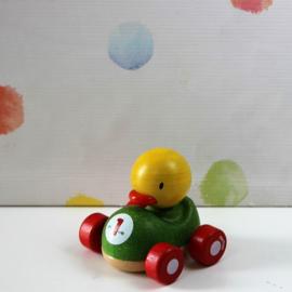 Houten Eend Auto - Plan Toys - Refurbished