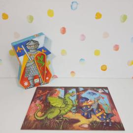 Puzzel Ridders en de Draak Djeco - Refurbished