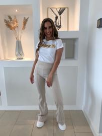 Flair broek beige - Qiana