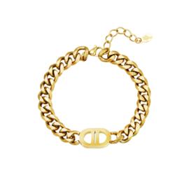 Good life armband goud