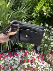 Tasje zwart luxe - Nienke