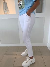 Witte legging broek - Tatum