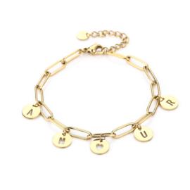 Amour schakel armbandjes in circeltjes