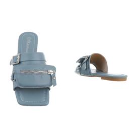 Slipper, blauw