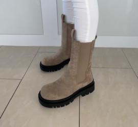 Boots Chelsea khaki suede