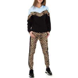 Comfy blauw luipaard