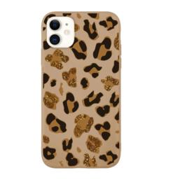 Telefoonhoesje luipaard bruin