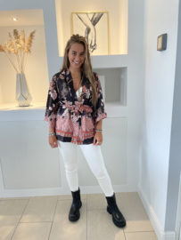 Kimono overslag - Louise