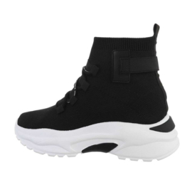 High sneakers zwart - Jenna