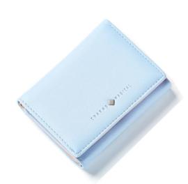 Mini portemonnee poeder blauw