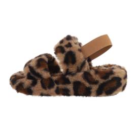 Pantoffels luipaard