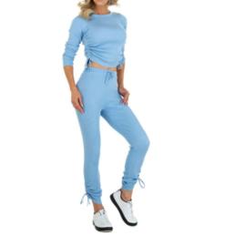Comfy pak blauw Rebecca(2-delig)