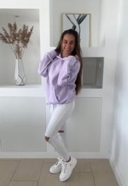 Hoodie purple Yara