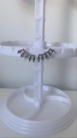 Oorbellen kroon zilver