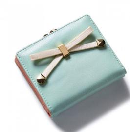 Mini portemonnee mint