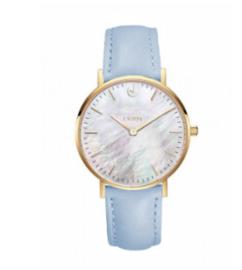Horloge babyblauw